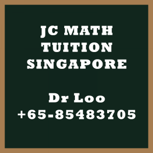 H2 Math Tuition in Singapore