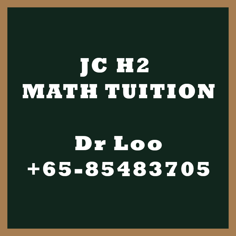 Dr Loo's Math Specialist Tuition Services