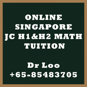 Online JC Math Tuition Singapore