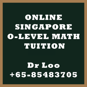 Online O-level Math Tuition Singapore