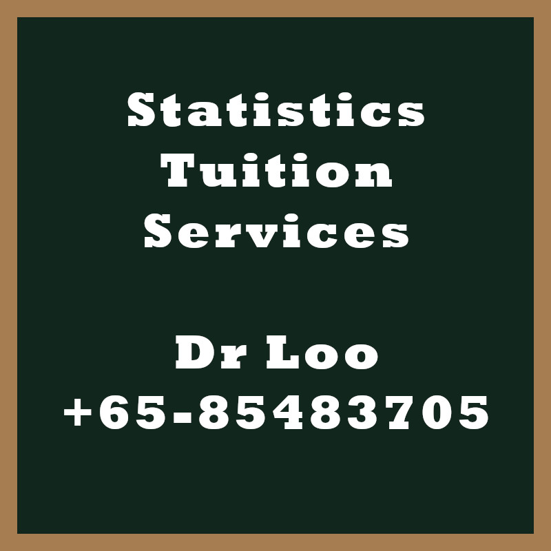 Statistics Tuition Services in Singapore